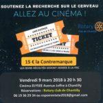Vendredi 9  mars à 20h30, Espoir en tête, cinéma Élysée Chantilly…